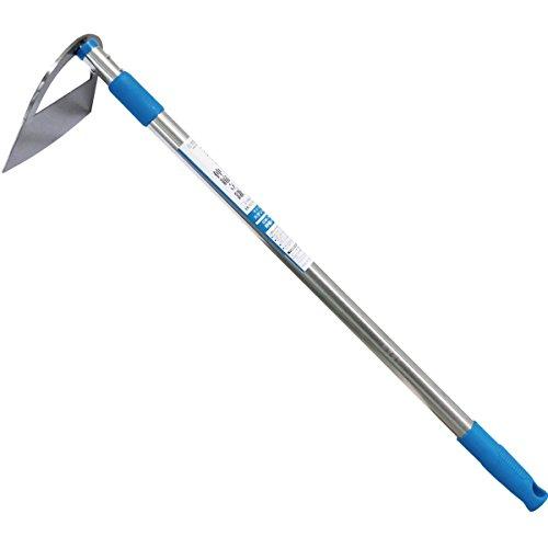 ガーデンフレンズ ステンレス伸縮パイプ柄 立鎌 ギザ刃 210mm