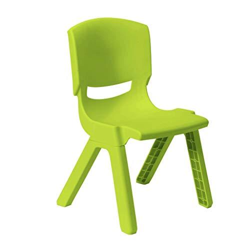 CKH Kinderstoel Kunststof Rugleuning Stoel Verdikking Kinderstoel Baby Kruk