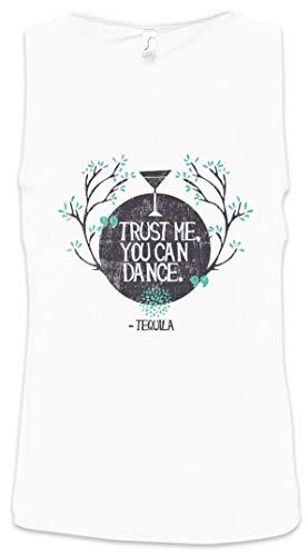 Urban Backwoods Trust Me You Can Dance Heren Tank Top Training Gym Shirt