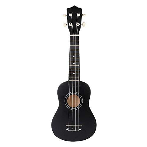 Akustisch Wirtschafts Gitarre Sopran-Ukulele 21 Zoll Uke Musikinstrument mit Gigbag Strings Tuner