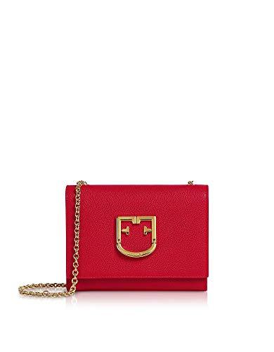 FURLA Luxury Fashion Donna 1021379 Rosso Borsa A Spalla | Autunno Inverno 19