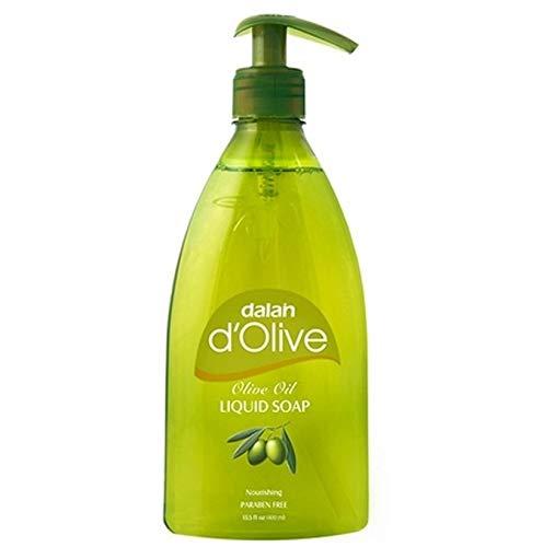 6 x Dalan d'Olive Flüssigseife (mit Pumpe) - 400ml