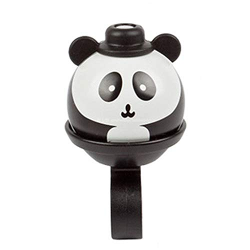 lijun Cute Cartoon Panda Head Bike Bell Children Balance Car Bicicletta Hand Press Small