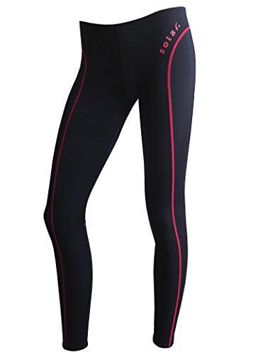 Solar Bañador Aquashorts hort Fast Skin Dry Weave 883438–52negro con rayas rojas Negro Schwarz Mit Roten Streifen