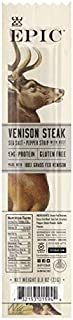 EPIC Venison & Beef Strips, Low-Carb, Grass-Fed, 10 Count Box 0.8oz strips