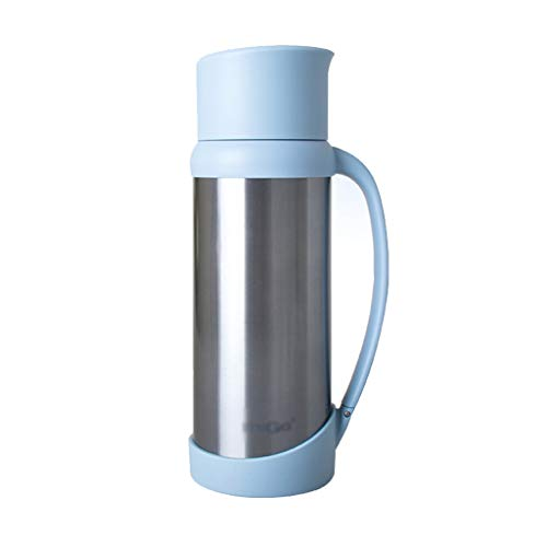 Cuisine & Maison Rangement et organisation Bouteille de nourriture pot d'isolation bouilloire portable en acier inoxydable Creative Thermos mug de grande capacité pour voiture bouchon à ressort Conser
