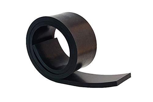 1000mm x 100mm x 10mm Gummistreifen Gummi-Matte-Platte Vollgummi Schürfleiste Hartgummi