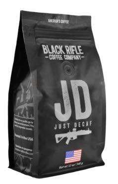 Black Rifle Coffee Company Ground Coffee 12oz Bag (Just Decaf)