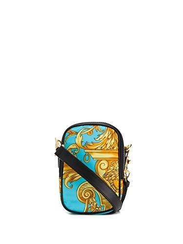 Luxury Fashion | Versace Heren DL27693DNY09K023H Goud Polyamide Messengertassen | Herfst-winter 19
