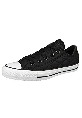 Converse Chuck Taylor All Star High Top Shoe, Black, 4 Infant (0 - 12 Months)