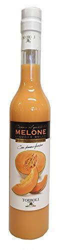 Torboli Melonenikör | Crema Melone | Italienischer Likör | Frische Melonen |Cream (0,5l)