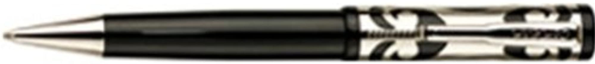 Conklin Deco Crest Mark Twain Limited Edition Sterling Silver Overlay Ballpoint Pen