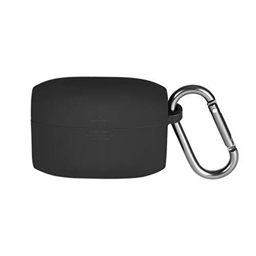 RGBIWCO - Capa protetora de silicone e película compatível com acessórios de fone de ouvido Jabra Elite Active 65t