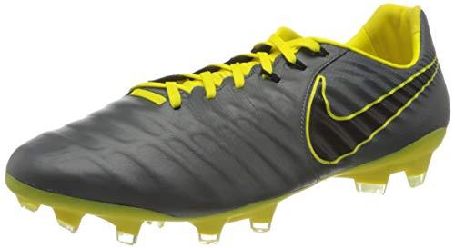 Nike Unisex Legend 7 Pro FG Futsalschuhe, Grau Dark Grey Black Opti Yellow 070, 42 EU