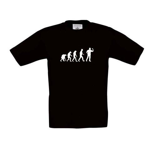 Dart Evolution, Kinder T-Shirt, Größe 152 - 164, schwarz