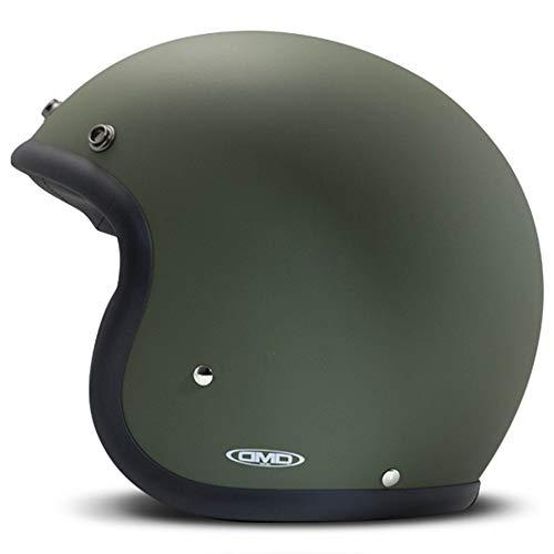 DMD Motorradhelm, Unisex, Grün, Größe L