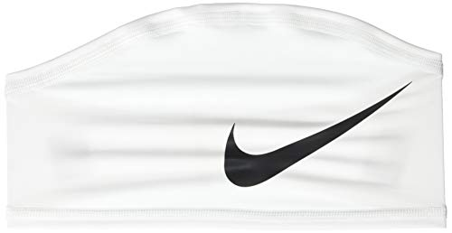 Nike Pro Dri-Fit Skull Wrap 4.0, White/Black, One Size Fits Most, One Size fits Most, Adult and Youth