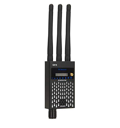 Detector de señales gsm, eoqo Detector de Señal RF Anti-Espía Lente Detector de señales gsm Buscador de Dispositivos Láser Cámara Oculta
