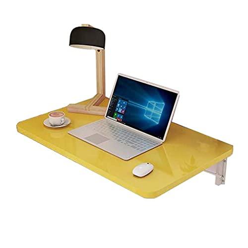 XXSHN qx Escritorios Mesas Escritorio, Mesa Plegable, Mesa de Comedor Multifuncional Plegable de Pared/Mesa/Estante de computadora, Soporte Doble de Hierro Forjado, 120x50cm, 120x50cm