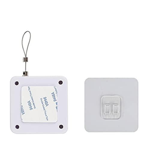Puerta más Cerca de Punch-Free Puerta Automática Closers para Cajas Puerta Cerca de Puerta Cerca Automático Closer (Color : White 500G Pull)