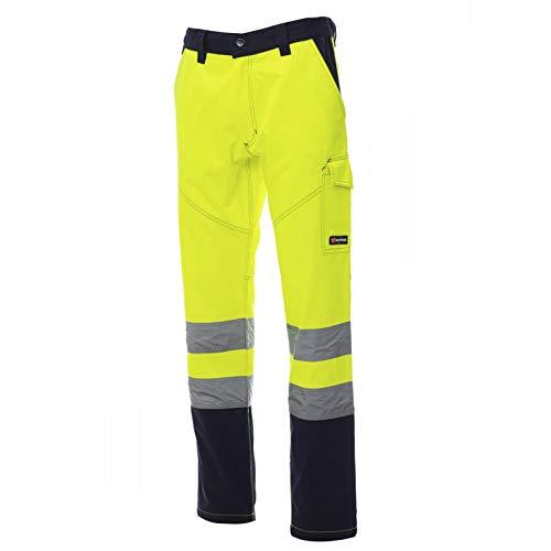 CHEMAGLIETTE! Pantaloni da Lavoro Misto Cotone Alta visibilità Tasconi Laterali Payper Charter