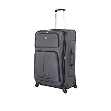 SwissGear Travel Gear 6283 Spinner Luggage, 28 inches
