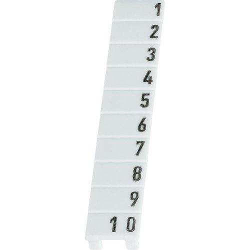 Streifen Markierung 9705A/6/10B 1–10. Enthält 25Teile