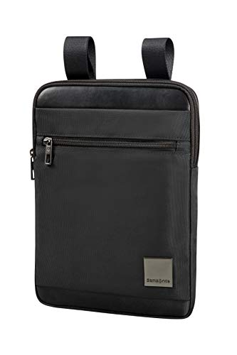 SAMSONITE Hip-Square - Tablet Cross-Over L 9.7 Umhängetasche, 29 cm, 3.5 L, Black