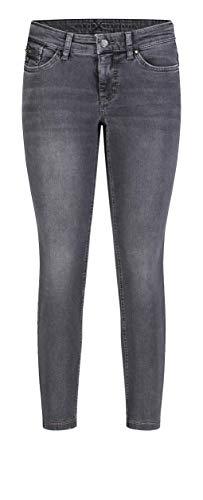 MAC Jeans Damen Dream Slim Jeans, Grey Authentic Wash, W44/L27 (Herstellergröße: 44/27)