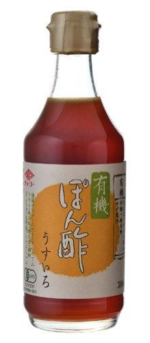 チョーコー醤油 チョーコー 有機ぽん酢うすいろ 300ml 瓶 ×8セット