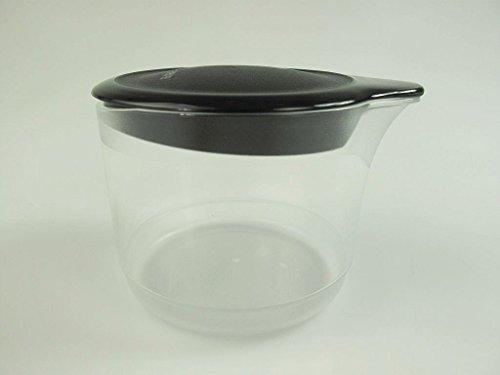 TUPPERWARE Exclusiv TupperTime 250 ml schwarz Milchkännchen Kännchen Milch Sahne