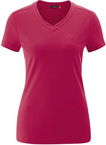 Maier Sports Trudy T-Shirt Femme, Persian Red Modèle DE 42 2021 T-Shirt Manches Courtes