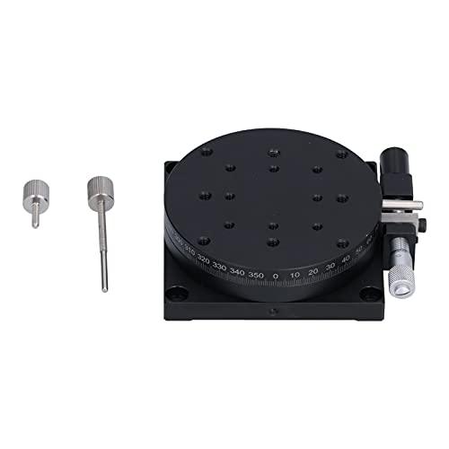 Mesa deslizante de escenario lineal giratoria manual Ajuste aproximado de 360 ° para equipos ópticos, dispositivos de medición, máquinas de prueba