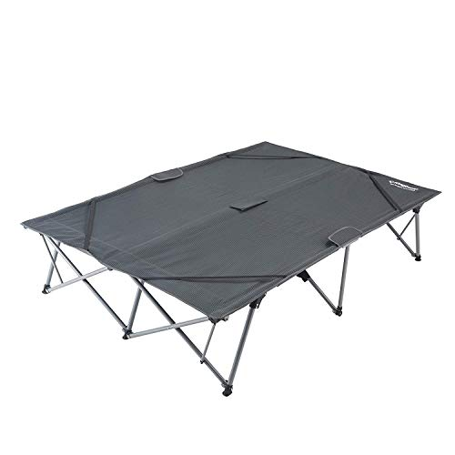 Heavy Duty Wheeled Queen Size Camping Cot