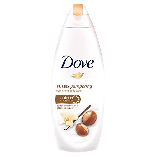 DOVE Jabón líquido corporal karité y vainilla 250 ml
