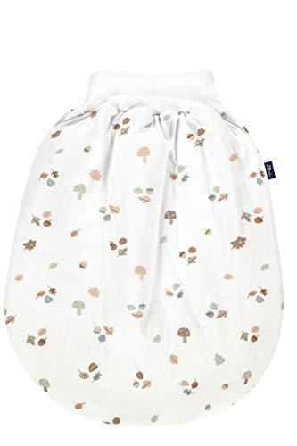 Alvi Baby Schlupfmäxchen Thermo XL Exclusiv, Kleinkinder Strampelsack aus Baumwolle mit elastischem Bund, praktischer Pucksack wattiert, Baby Säckchen ab ca. 3 Monate, Babyschlafsack Winter
