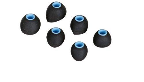 ROCCAT by Fiducia Hochwertige Universal In-Ear Silikon Ohrstöpsel Kopfhörer Ersatz 3 Paar (3 Verschiedene Größen, In Ear Silikon)
