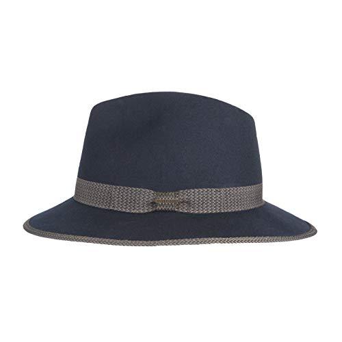 Hatland Truscott Crushable Blue Hoed 55059A02-L (Maat: L)