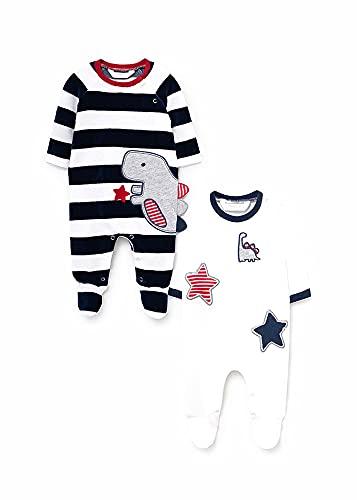 Mayoral Set 2 Pijamas Bebe Niño Azul 0-18 meses (4 a 6 meses)