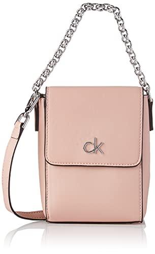 Calvin Klein Re-Lock, Bolsas. para Mujer, Colorete, One Size