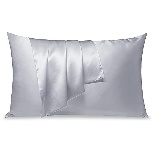 LULUSILK Mulberry Silk Pillowcase for Hair and...