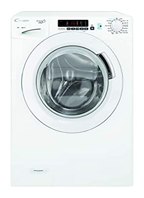 Candy GVS149D3 Freestanding Grand'O Vita Washing Machine, NFC Connected, 9kg Load, 1400rpm, White