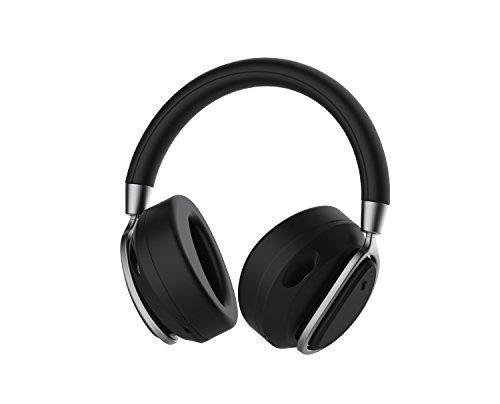 DEFUNC Mute Diadema Binaural Inalámbrico Negro - Auriculares (Inalámbrico, Diadema, Binaural, Circumaural, 20-20000 Hz, Negro)
