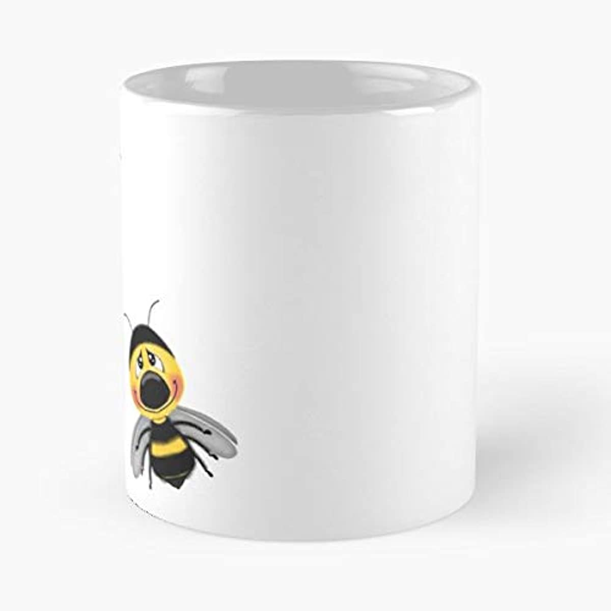 Bees Bee Honey Bumble - Funny Sophisticated Design Great Gifts -11 Oz Coffee Mug.the Best Gift For Holidays.