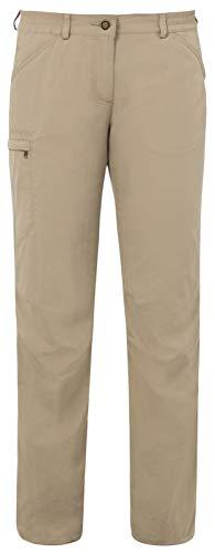 VAUDE Farley IV - Pantalones para Mujer, tamaño 44 UK, Color Camo