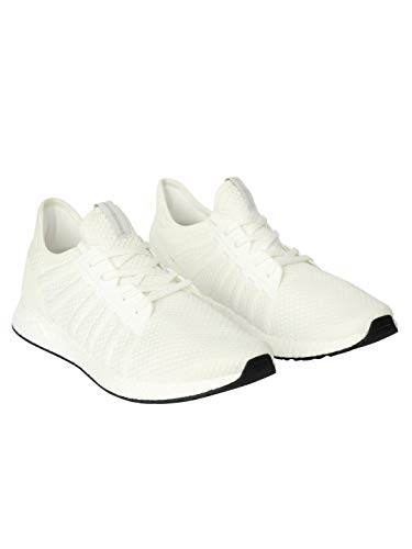 JACK & JONES Herren JFWMIKE MESH NOOS Sneaker, Weiß (Bright White Bright White), 42 EU