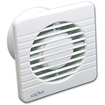 AEROMIS ventilador extractor de pared y techo para cocina o baño: Amazon.es: Bricolaje y herramientas