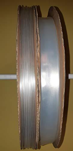 Schrumpfschlauch 2:1 transparent/klar Ø 1,2 bis 25,4 mm verschiedene Längen ab 25 cm bis 20 Meter (Ø 3,2 mm, 50 cm)