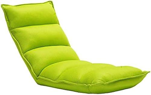 MDBLYJ Lazy Sofa Freizeit Stuhl Klappbett Bett zurück Bay Fenstersessel,