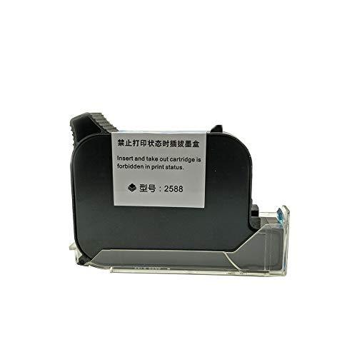 AH&Y Reemplazo Original del Cartucho De Tinta Portátil para La Impresora De Inyección De Tinta Portátil Adecuado para Los Modelos MX3, M6, M30, T30, R10, T-Y, T-X (Negro),1pcs